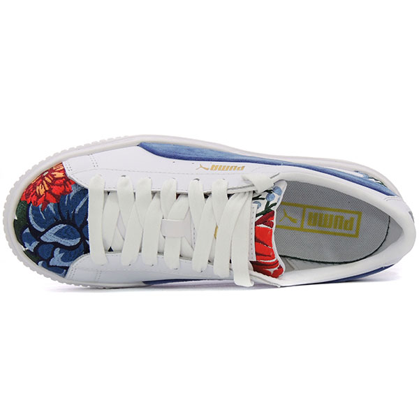 Ženske patike Puma Lifestyle - LFS PATIKA PUMA PLATFORM EMBROID WN'S 366123-01