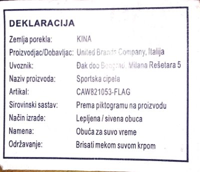 Ženske cipele CARRERA Lifestyle - OUT CIPELE NEVADA NBX-SATIN CAW821053-FLAG
