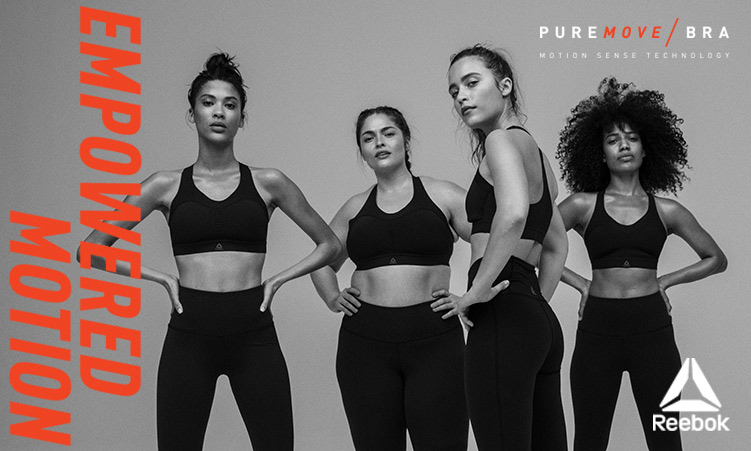 Reebok pure move bra